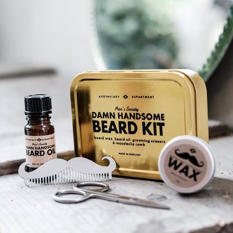 Kit de soins pour barbe Men's Society