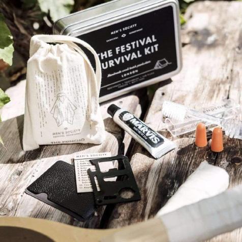 Kit de survie Festival Men's Society