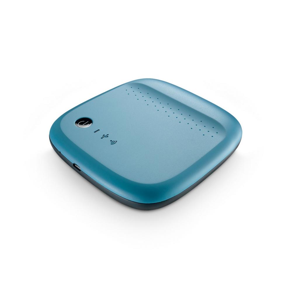 Disque dur Wireless 500GB bleu Seagate