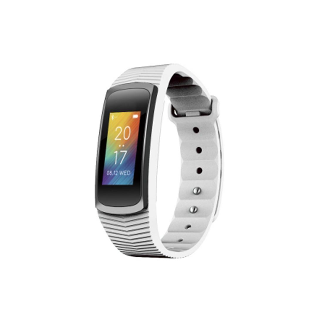 Bracelet Multi Fonctions Fit Bluetooth 4.0 blanc Abyx
