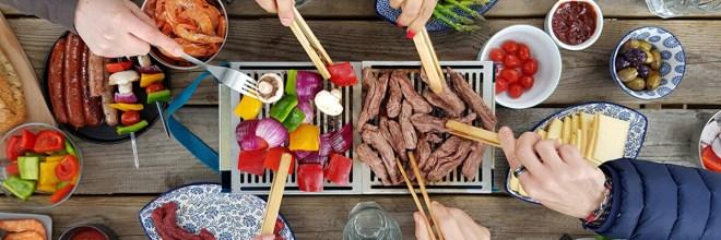 barbecue garden party