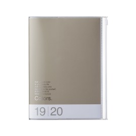 Agenda MARK'S JAPAN Clear Storage 2019-2020 A6 - Always make time for you - Noir