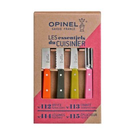 Coffret 4 couteaux Les Essentiels Fifties by Opinel