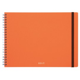 Carnet Spirale Pointillé Ideation Orange by MARK's JAPAN