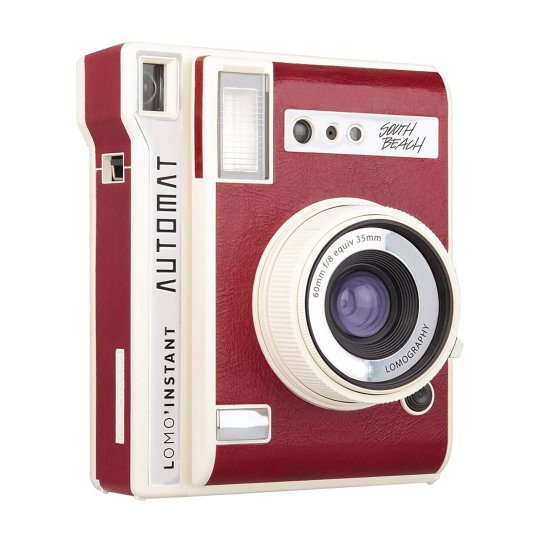 Instant camera Lomography Lomo'Instant Automat - Édition Rouge South Beach