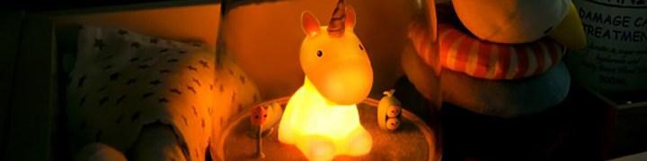 la collection veilleuse licorne bébé petit akio