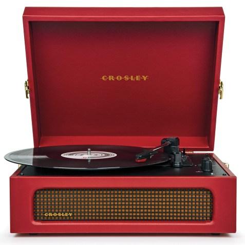 Platine vinyle Crosley Voyager – Coloris Bordeau