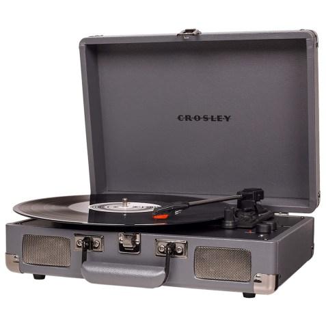 Platine vinyle Crosley Cruiser Deluxe – Coloris Cendres