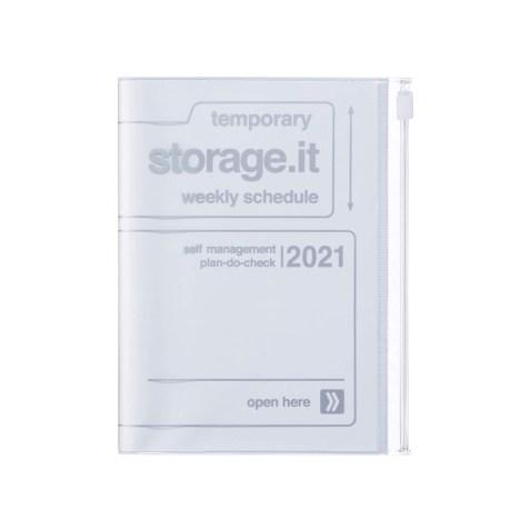 Agenda 2020-2021 Mark's Japan Storage.it A6 Blanc – sep20 à déc21