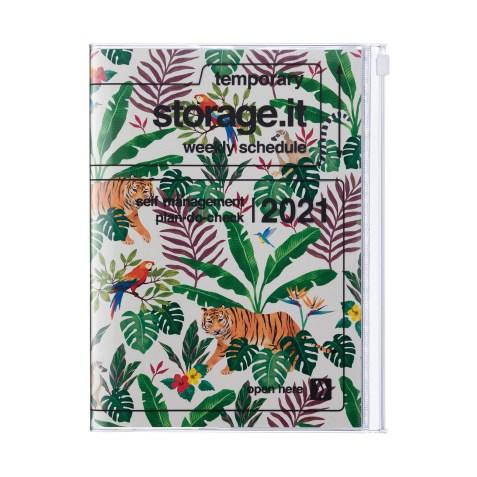 Agenda 2020-2021 Mark's Japan Storage.it Jungle B6 Crème – oct20 à déc21