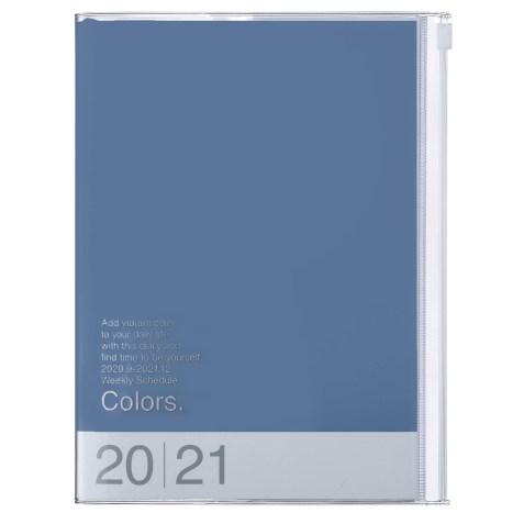 Agenda 2020-2021 Mark's Japan Colors A5 Bleu – sep20 à déc21