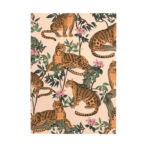 Cahier original ligné – Format A5 – Lazy Jungle by WOUF