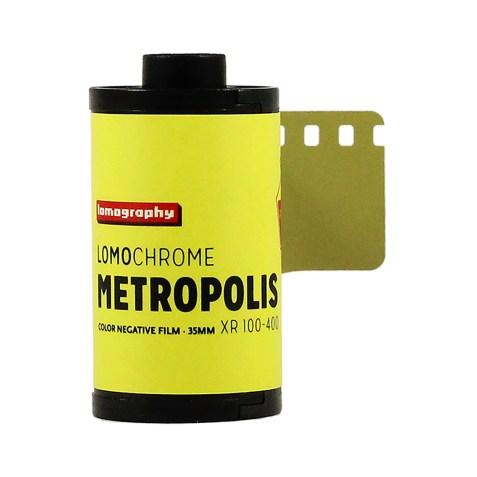 Pellicule 35mm LomoChrome Metropolis ISO 100-400