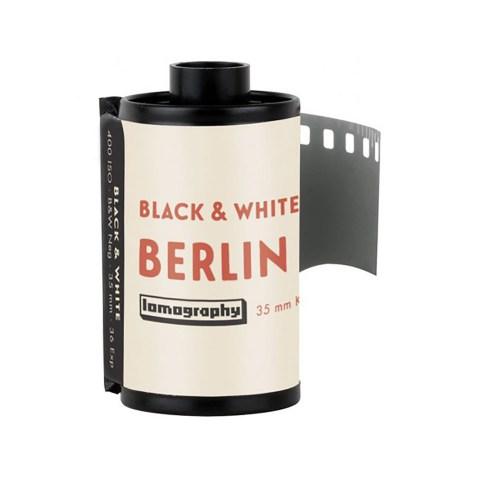 Pellicule 35mm LomoChrome Berlin Kino B&W ISO 400