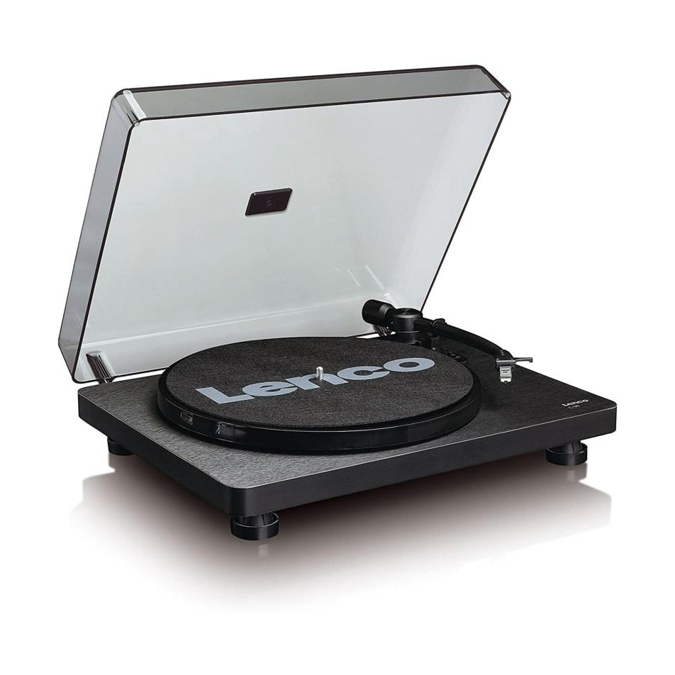 Platine vinyle Lenco L-30 Noire lecteur et convertisseur de 33 et 45 tours
