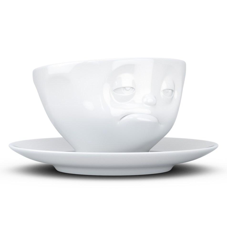 Tasse à thé 200ml TASSEN avec soucoupe – Réveil difficile