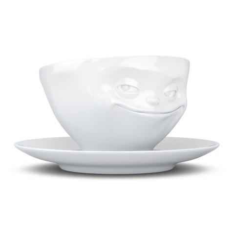 Tasse à thé 200ml TASSEN avec soucoupe – Sourire