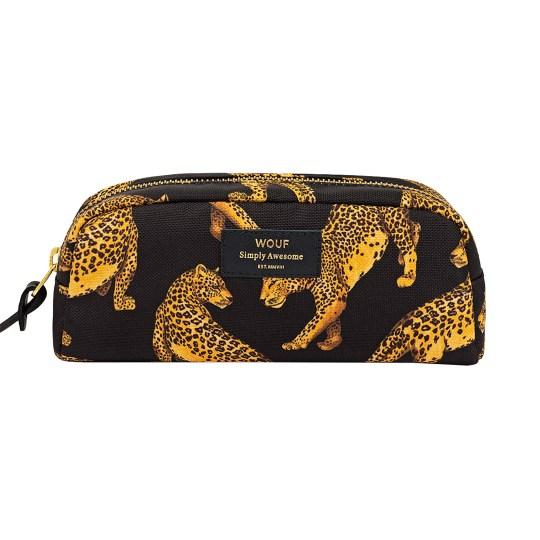 Petite trousse beauté Black Leopard by WOUF