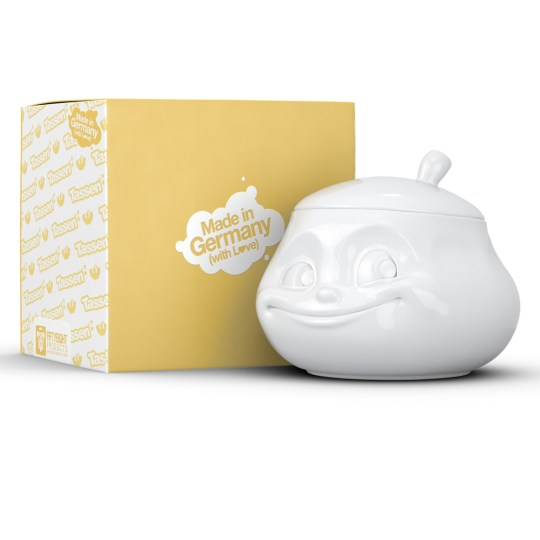 Sucrier en Porcelaine Blanc TASSEN