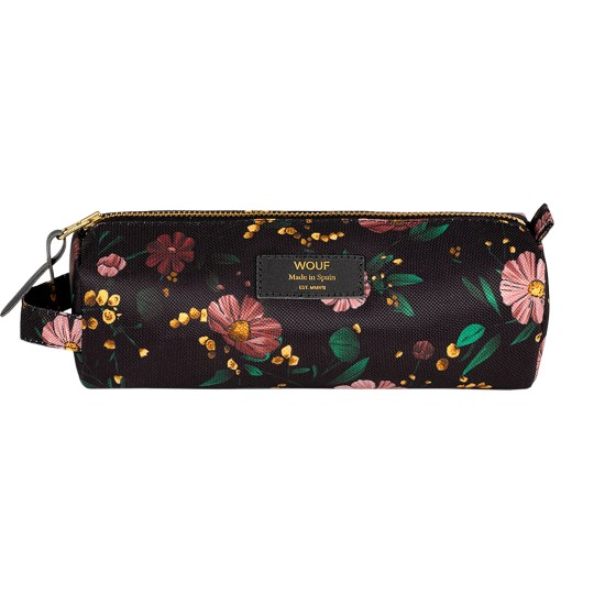 Trousse à crayons Black Flowers by WOUF