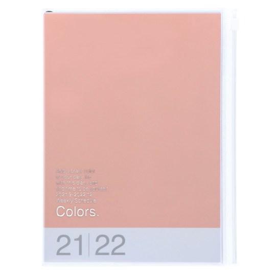 Agenda 2021-2022 Mark's Japan Colors A5 Rose – sep21 à déc22