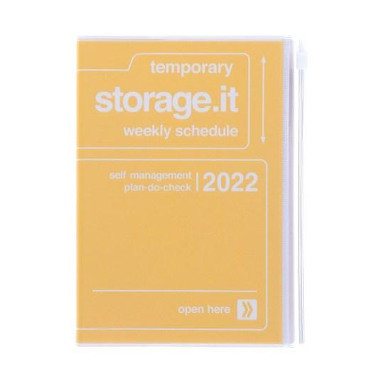 Agenda 2021-2022 Mark's Japan Storage.it B6 Jaune – oct21 à jan23