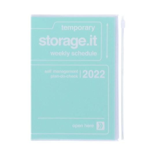Agenda 2021-2022 Mark's Japan Storage.it B6 Vert Menthe – oct21 à jan23