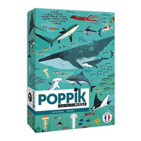 Puzzle 500 pièces Sous l'Océan par POPPIK