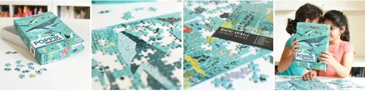 La collection Puzzle 500 pièces Poppik Océan