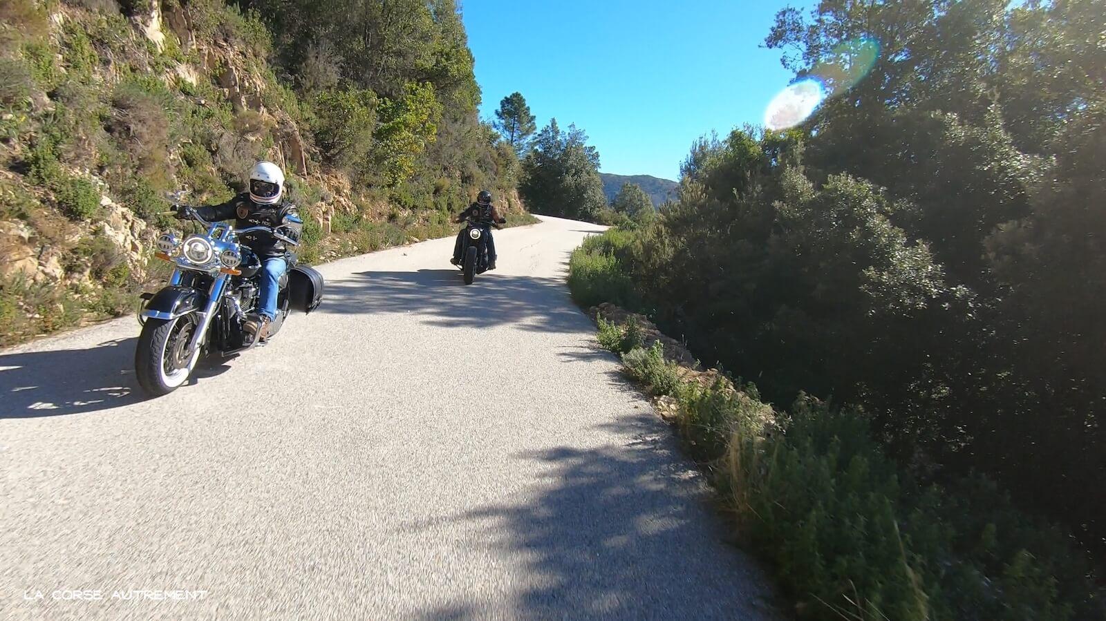 Service location motos Harley-Davidson Ajaccio