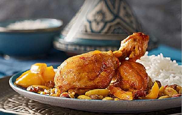 tajine de poulet aux epices