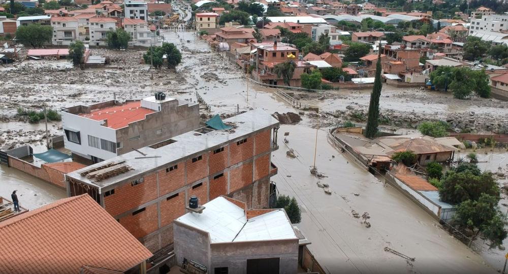 Lluvia Bolivia