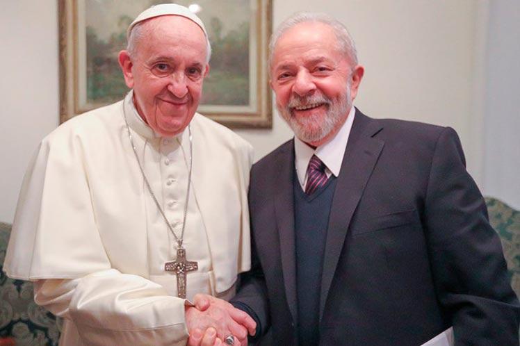Lula y el Papa