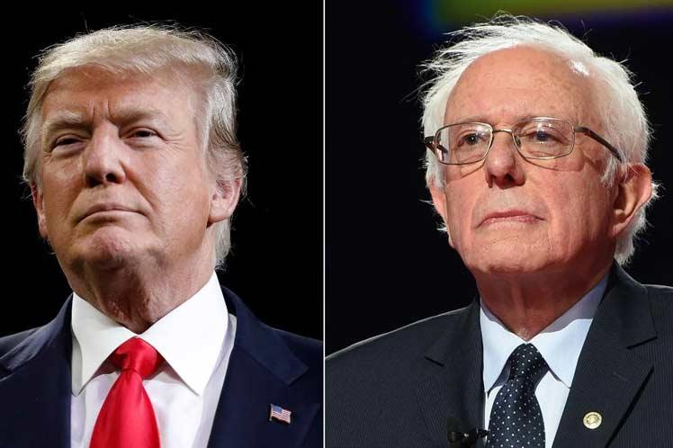 Sanders-Trump