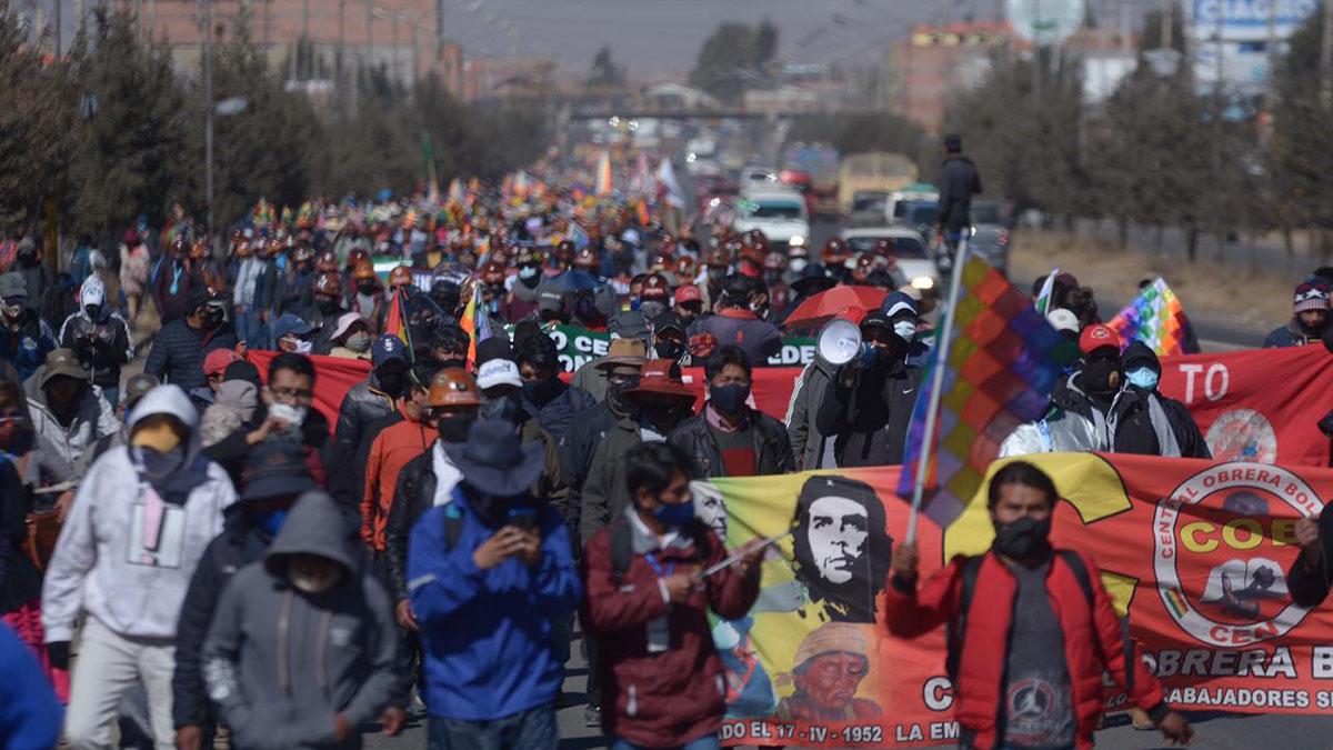 Bolivia democracia