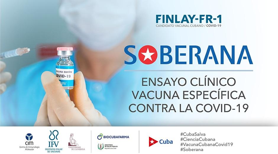 Vacuna Soberana cubana