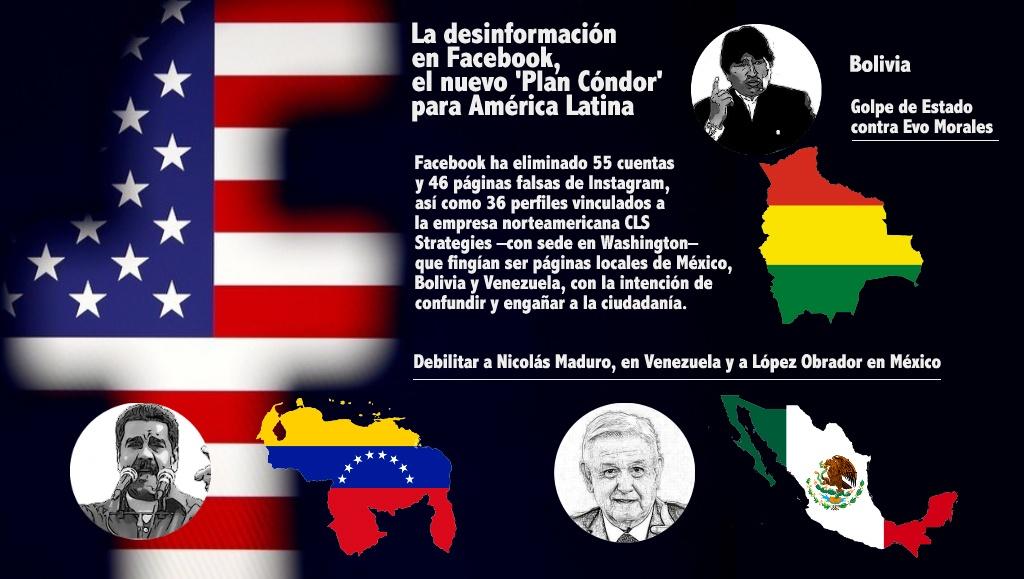Bolivia, Venezuela y México