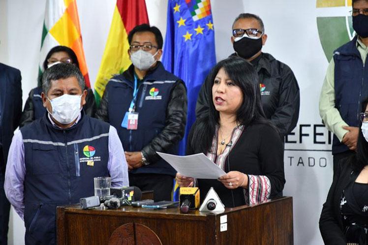 Defensoría Bolivia