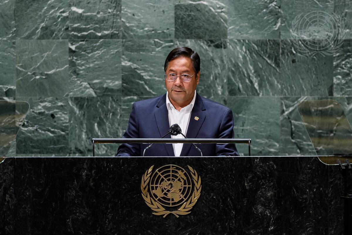 President of Bolivia Addresses General Assembly Debate