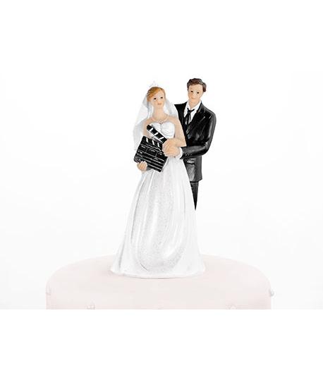 Figurine Pour Gteau Mariage Maris Et Clap Cinma