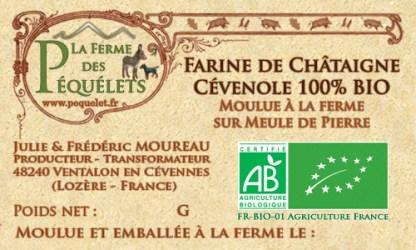 Farine de Châtaigne Cévenole 100% BIO