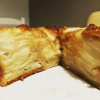 Gâteau pomme poire léger