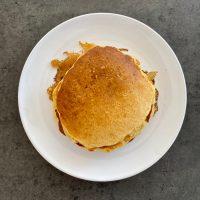 Pancakes healthy à la pomme