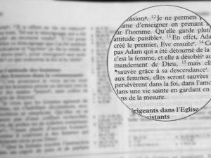 recherche-bible