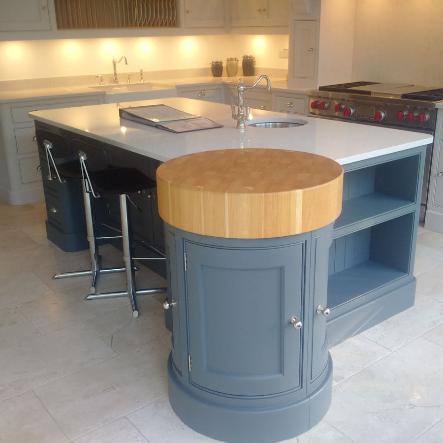 Hand PAinted Kitchen Esher