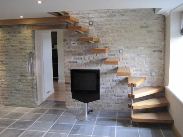 Renovated Farmhouse Stairway