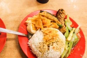 végétarien-Plats de tofu et légumes