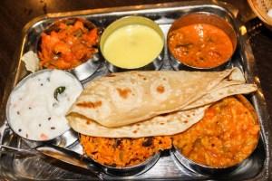 végétarien-cuisine-Thali