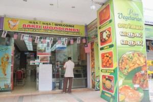 végétarien-Restaurant indien VG