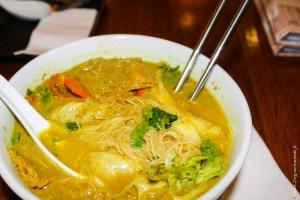 végétarien-Bouillon curry coco